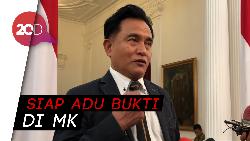 Yusril Tantang Kubu Prabowo Buktikan Kecurangan Selisih 16 Juta Suara