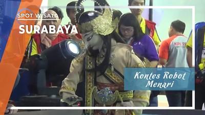 Kontes Robot Menari, Surabaya