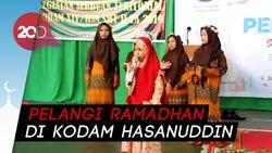 Anak Jalanan dan Panti Asuhan Adu Bakat Ngaji dan Nyanyi di Makassar