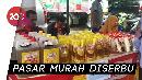 Antusias Warga Kendari Serbu Pasar Murah jelang Lebaran