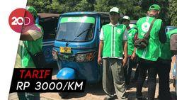 Dukung Transportasi Lokal, GrabBajay Resmi Diluncurkan