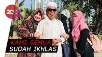 Istri-istri Ustaz Arifin Ilham Ikhlas Terima Kepergian Sang Suami