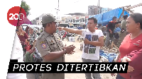 Penertiban PKL di Polewali Mandar Diwarnai Protes
