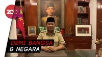 Prabowo Subianto Imbau Pendemo Hentikan Aksi