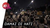 Redakan Massa, Polisi Selawat Bareng Tokoh Masyarakat Sekitar