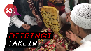 Ribuan Pelayat Iringi Jenazah Ustaz Arifin Ilham hingga Liang Lahat