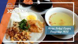 Menu Sehat Tanpa Penyedap MSG, Jombang