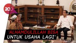 2 PKL yang Dijarah di Aksi 22 Mei Diundang ke Istana, Dibantu Modal