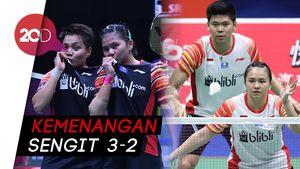 Indonesia Lolos Semifinal Piala Sudirman Usai Tumbangkan Taiwan