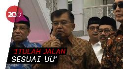 JK Apresiasi Prabowo Tempuh Jalur MK, Minta Pendukungnya Tenang