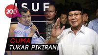 JK Bertemu Prabowo, Bahas Apa?