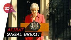 Perdana Menteri Inggris Theresa May Mundur