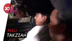 Tinggalkan Kertanegara, Prabowo ke Rumah Alm Ustaz Arifin Ilham