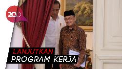 Ucapan Selamat Habibie untuk Jokowi