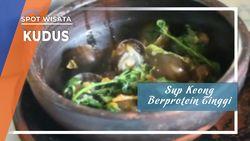 Sup Keong Sawah Berprotein Tinggi Khas Kudus