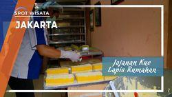 Jajanan Kue Lapis Rumahan di Ibukota Jakarta