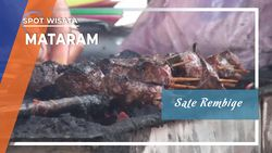 Sate Rembige, Kuliner Daging Sapi Liar Lombok, Nusa Tenggara Barat