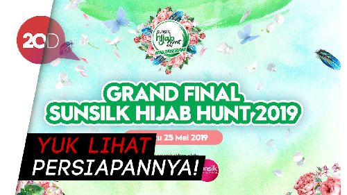 Grand Final Sunsilk Hijab Hunt 2019 Digelar Malam Ini