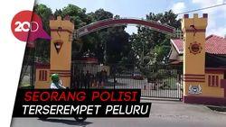 Mako Brimob Purwokerto Ditembaki, Polisi Gelar Olah TKP