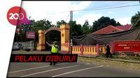 Penembakan Mako Brimob Purwokerto, Genteng Pos Jaga Rontok