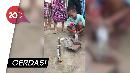 Viral! Bocah Ini Bikin Robot Ekskavator Pakai Alat Suntik