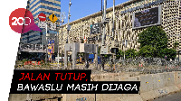 Weekend di Jalan MH Thamrin Pascaaksi Rusuh 22 Mei