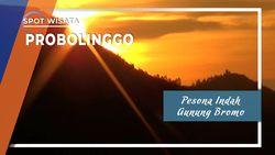 Pesona Indah Matahari Terbit Gunung Bromo, Probolinggo