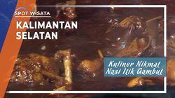 Kuliner Nikmat Nasi Itik Gambut, Kalimantan Selatan
