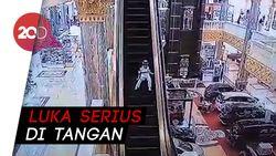Bocah Terjepit Eskalator Mal karena Lepas dari Pengawasan Ortu