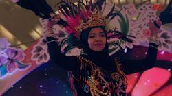 Safira Adinda Berani Mengenalkan Sejarah Lewat Tarian Nusantara