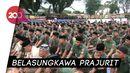 Doa Prajurit TNI Kodam XIV Hasanuddin untuk Ani Yudhoyono