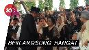 Momen Salaman SBY-Megawati di Pemakaman Ani Yudhoyono