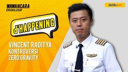 dHappening Capt Vincent: Kontroversi Zero Gravity