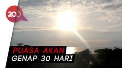 Hilal Tak Terlihat di Makassar, 1 Syawal 1440 H Jatuh pada Rabu