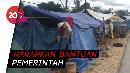 Warga Korban Banjir Kendari Lebaran di Tenda Pengungsian