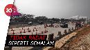Arus Lalu Lintas di Cikampek Utama Ramai Lancar Siang Ini