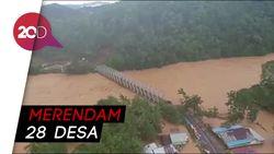Melihat dari Langit Parahnya Banjir di Konawe Utara