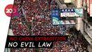 Warga Hong Kong Tumpah ke Jalan Tolak Hukum Ekstradisi