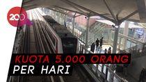 LRT Jakarta Diuji Coba untuk Publik, Gratis hingga 22 Juni Loh