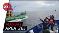 Kapal Ilegal Malaysia Disergap di Selat Malaka