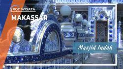 Masjid Indah Makassar dan  Malang