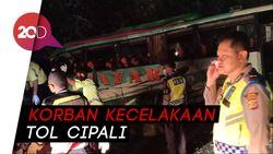 Ini Identitas 12 Korban Tewas Kecelakaan di Tol Cipali