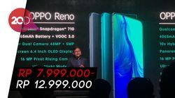 Resmi Diluncurkan, Ini Harga OPPO Reno Series