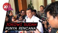 Soal Aktivis 98 Jadi Menteri, Wiranto: Tergantung Presiden