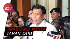 Wiranto: Kalau Ada Aksi di MK Berarti Bukan Pendukung Prabowo-Sandi
