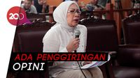 Bacakan Nota Pembelaan, Ratna: Kasus Saya Sarat Politisasi