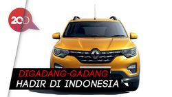 Perkenalkan Renault Triber, MPV Eropa Pesaing Avanza dan Xpander