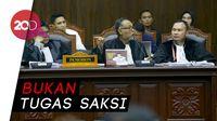 Saksi DPT Invalid Tidak Dicek, BW: Itu Tugas KPU!