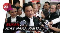 Caleg PBB Jadi Saksi Tim Prabowo, Yusril: Ini Orang Ngeyel