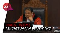 Hakim MK: Hasil Resmi Pemilu adalah dari Penghitungan Manual